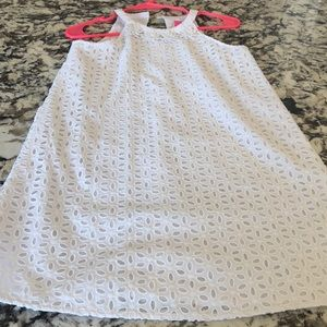 Lilly Pulitzer girls dress size 14 white
